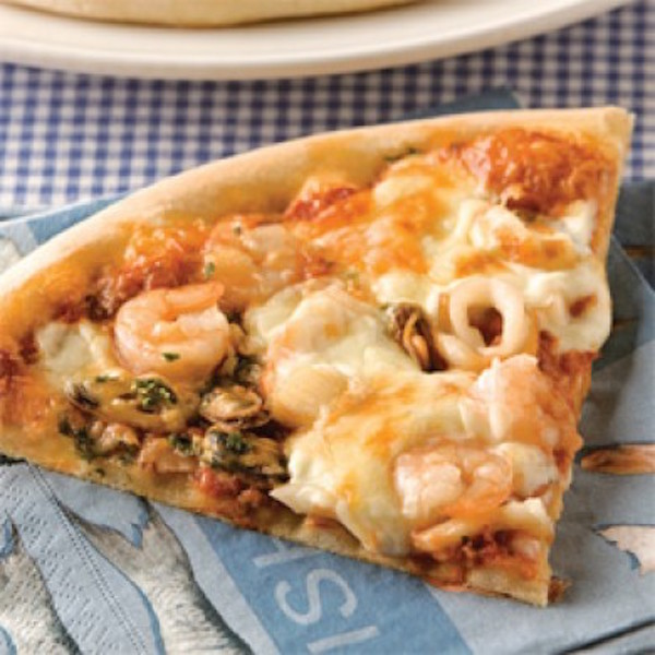 Photo Recette Pizzas aux Fruits de Mer