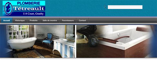 Plomberie Tétreault en ligne