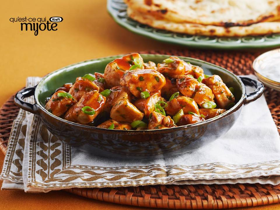 Poulet Barbecue Bhuna
