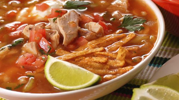 Poulet Mexicain & Soupe à la Limette
