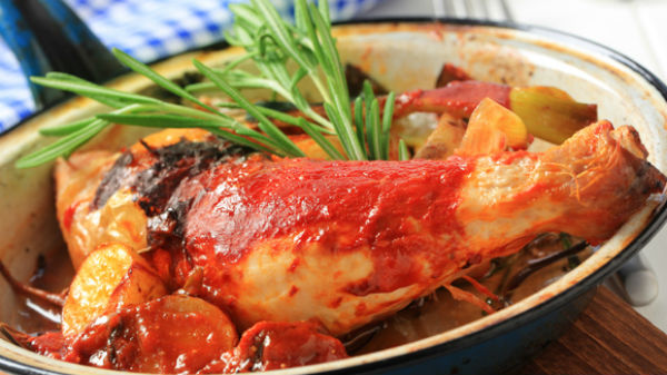 Poulet Tomate Fenouil
