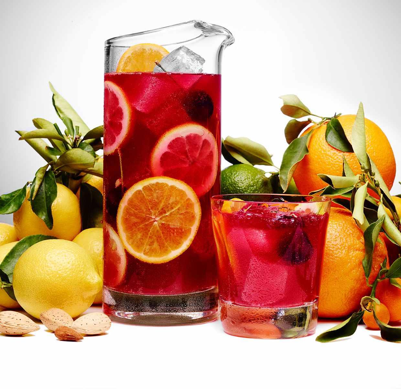 Punch aux Fruits