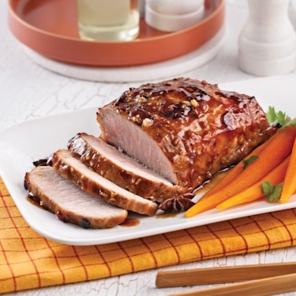 Photo Recette Rôti de Porc Caramélisé à L'asiatique