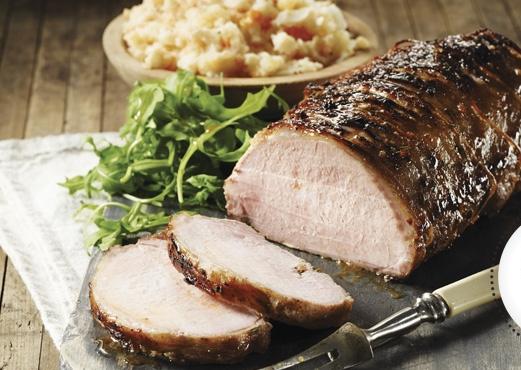 Rôti de Porc à L'Érable tout Simple de Josée di Stasio