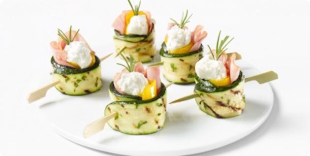 Roulade aux Légumes Grillés et au Jambon Fumé à L'ancienne