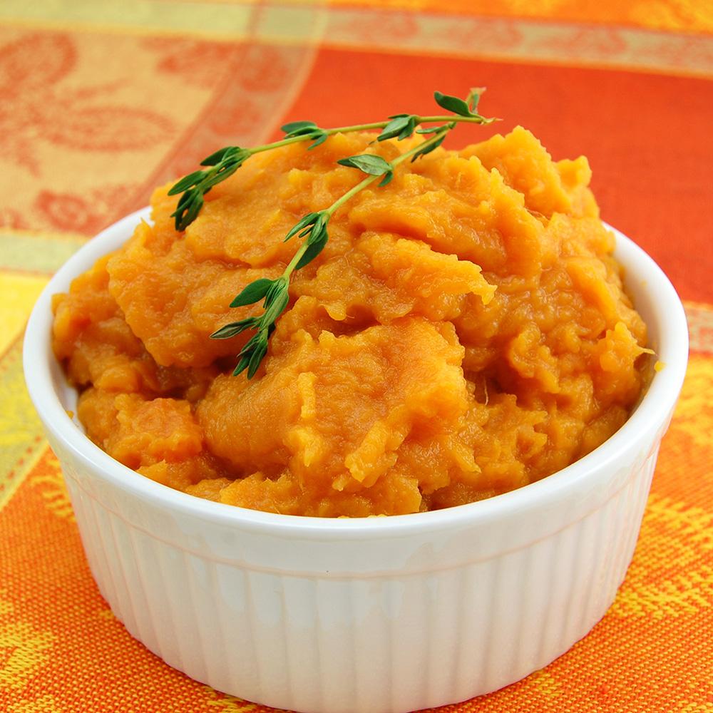 Photo Recette Purée de Butternut et patates douces