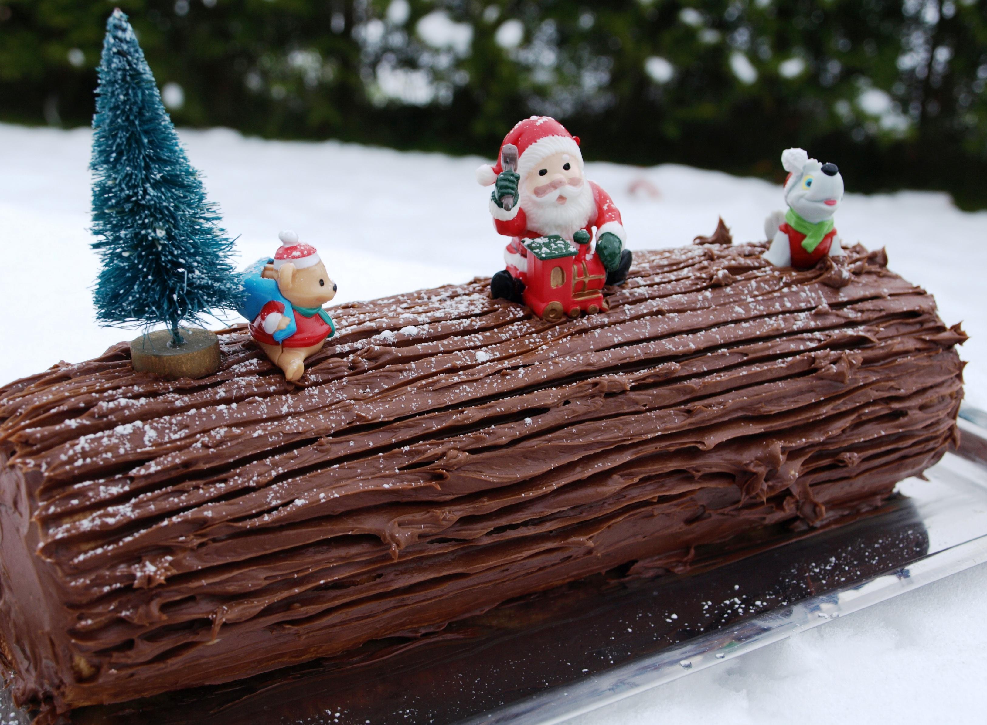 Photo Recette Bûche de Noël