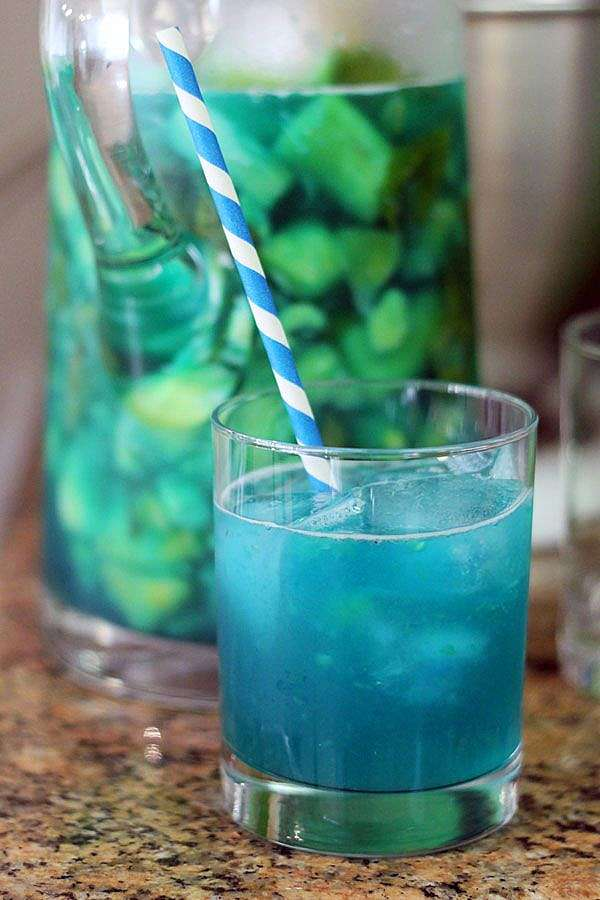 Sangria Bleue Pétillante