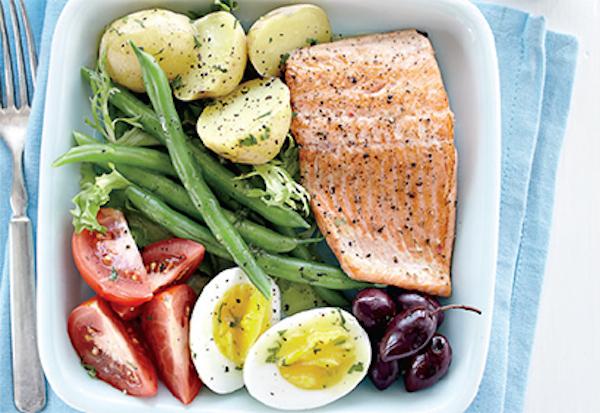 Salade Niçoise à la Truite