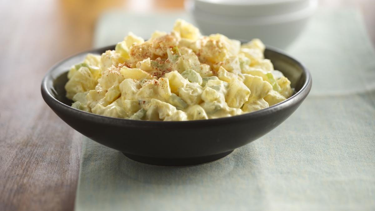 Photo Recette Salade de Pommes de Terre Crémeuse Classique
