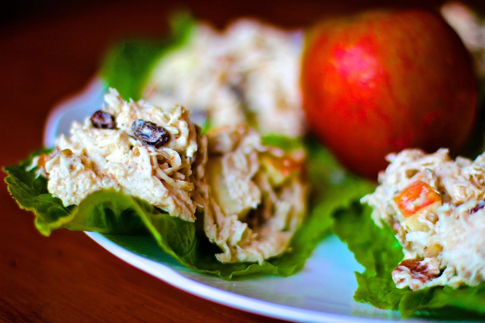 Salade de Poulet Coco Riche en Nutriments