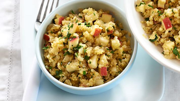 Photo Recette Salade de Quinoa, Pomme et Cari