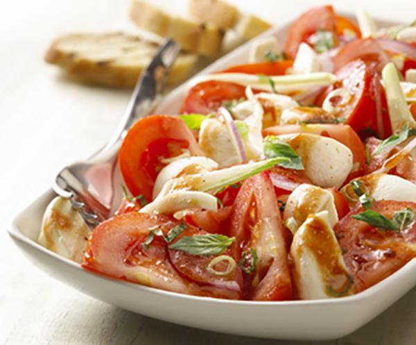 Salade de Tomates et de Bocconcinis
