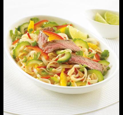 Salade Thaïlandaise au Bœuf Épicé