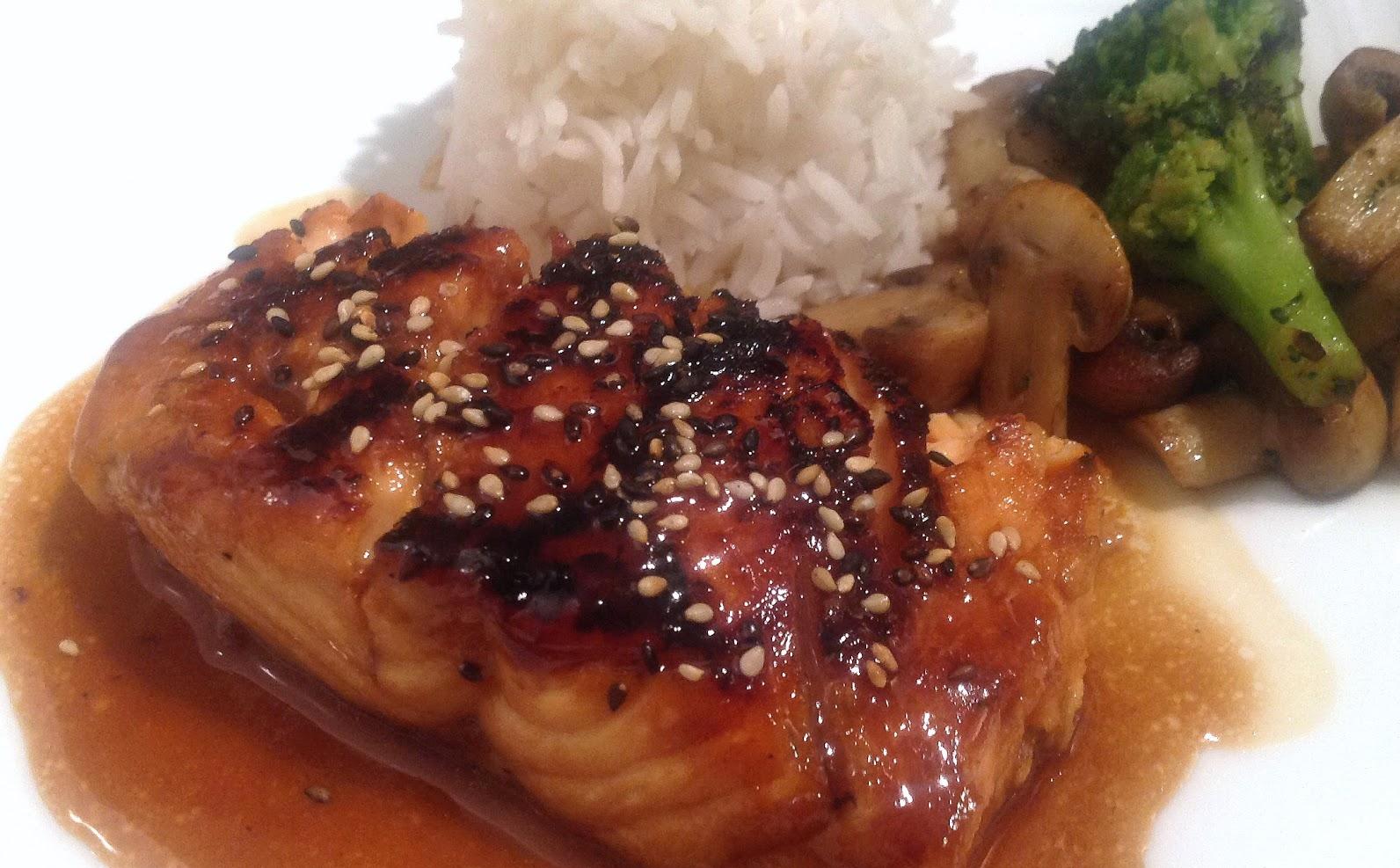 Saumon Glacé Style Japonais
