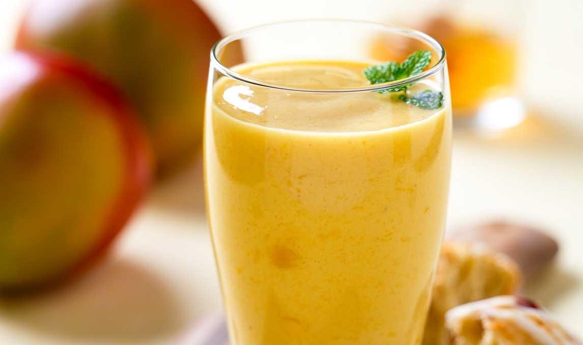 Smoothie à la Mangue et au Citron