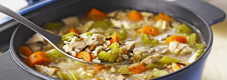 Photo Recette Soupe à la Dinde et aux 7 Grains