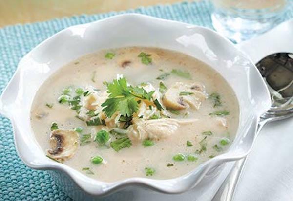 Photo Recette Soupe au Poulet à la Thaïe