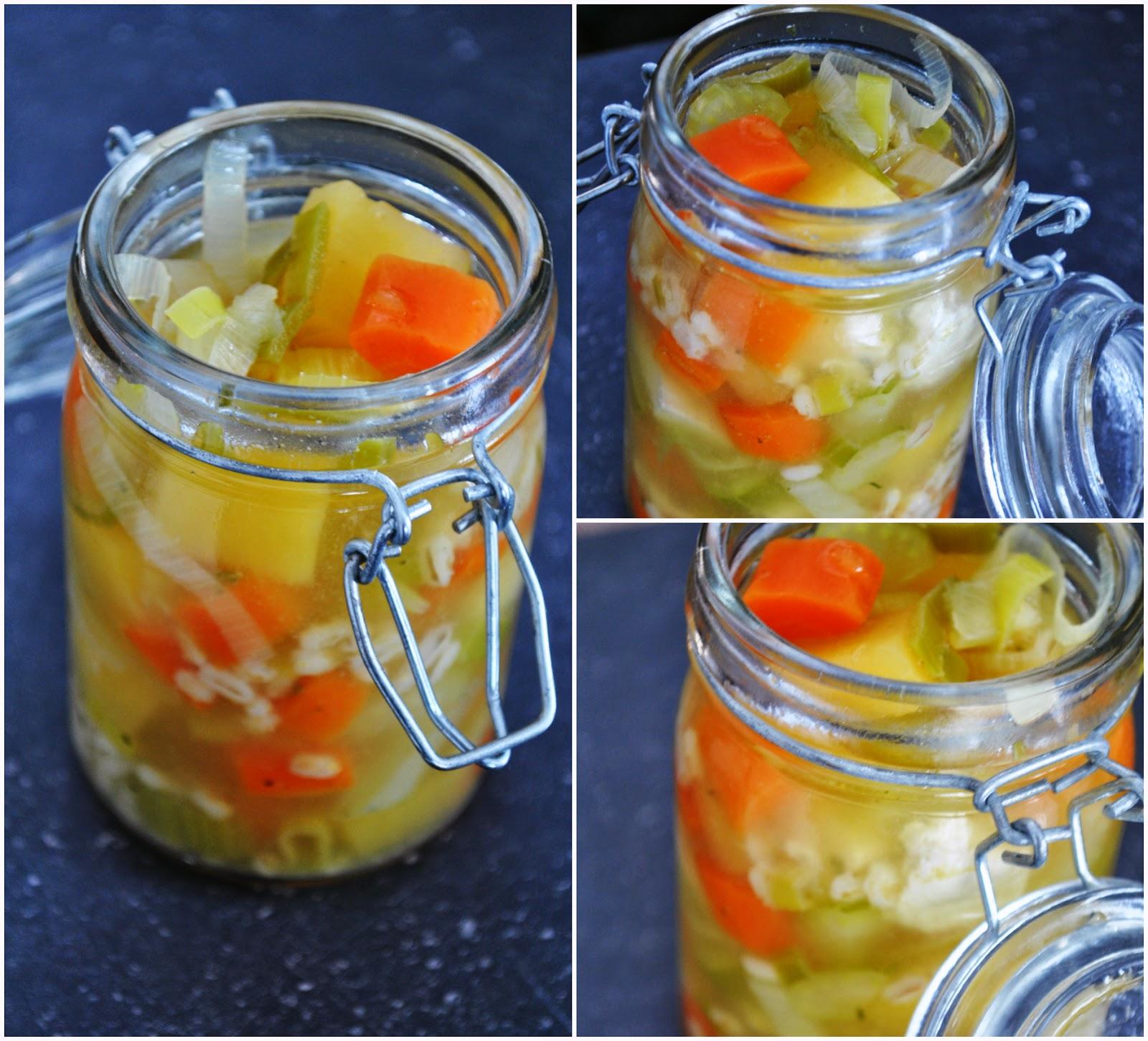 Soupe au Poulet, Légumes et à l'Orge