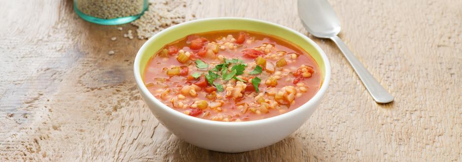 Photo Recette Soupe aux Tomates et à L'orge