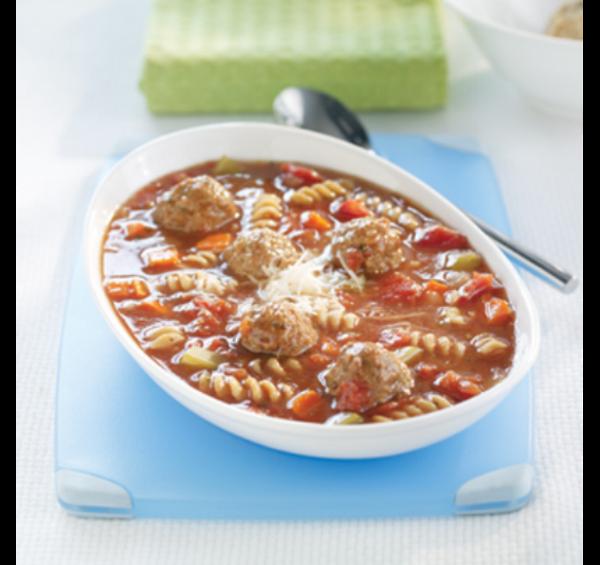 Soupe Italienne aux Boulettes en toute Simplicité