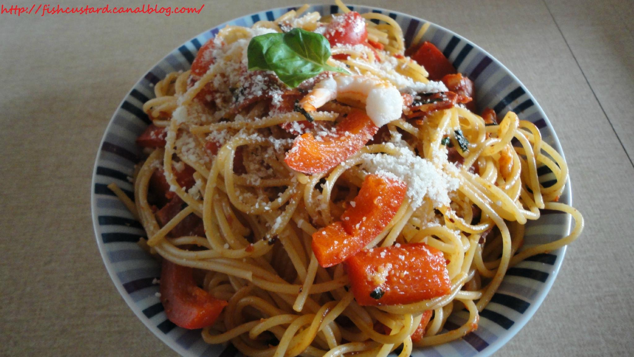 Spaghettis Façon Espagnole