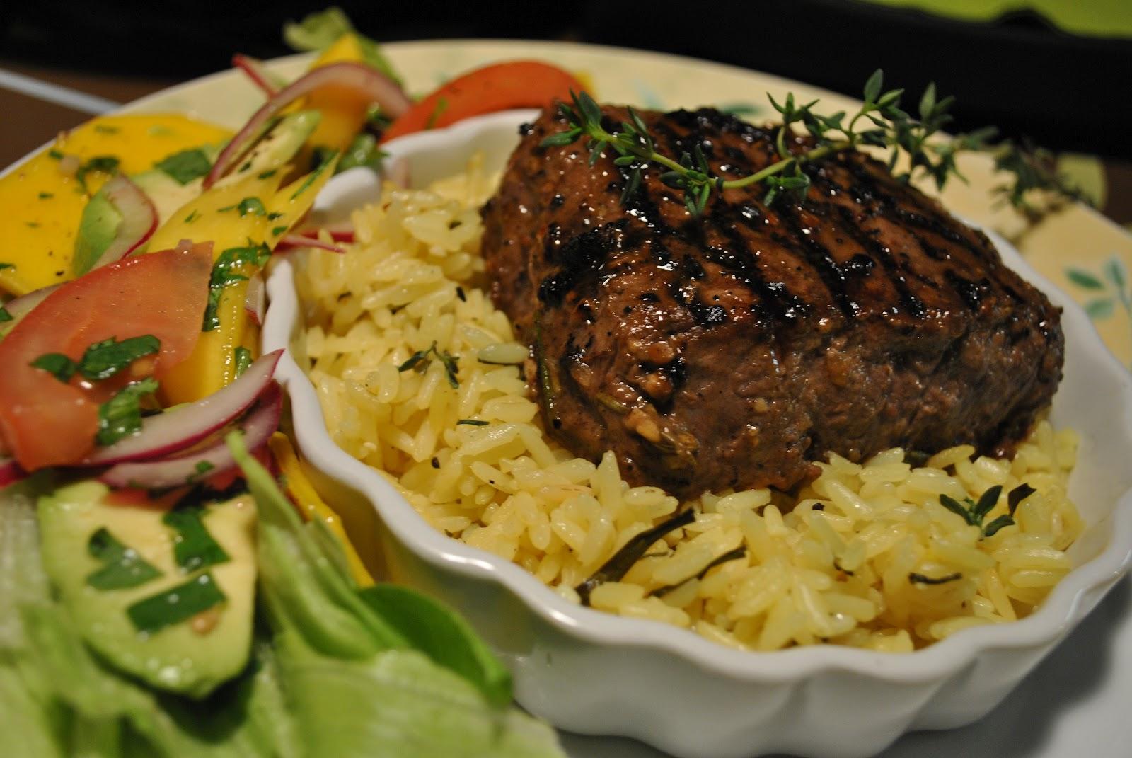 Steak de Boeuf au Romarin