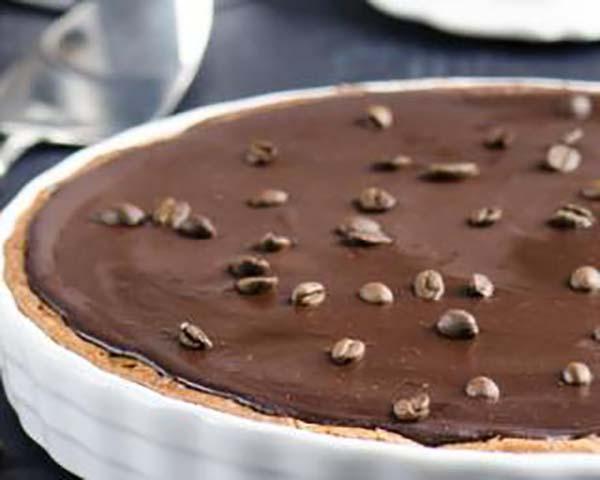 Tarte Allégée au Chocolat et Café