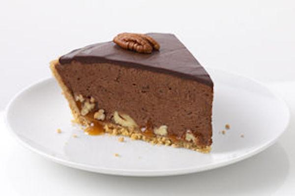 Tarte au Caramel, au Chocolat et aux Pacanes