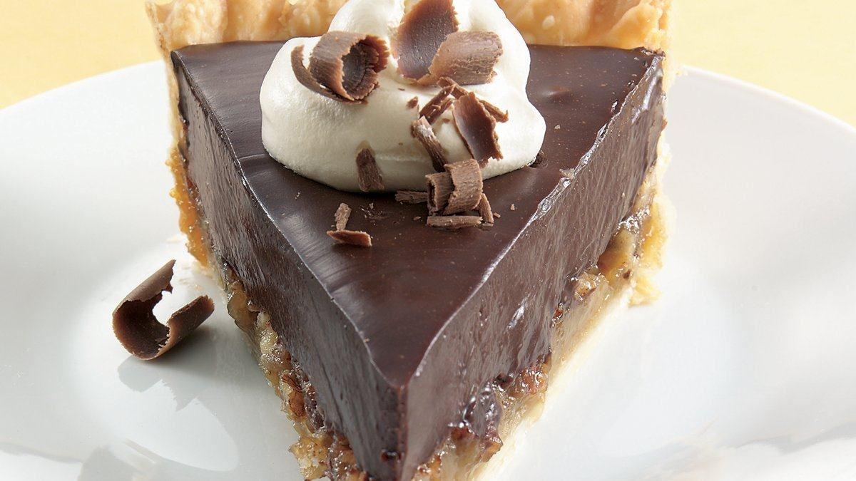 Tarte aux Pacanes et au Chocolat Soyeux