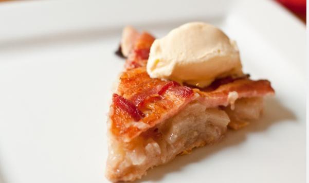 Tarte aux Pommes Tissée avec Bacon