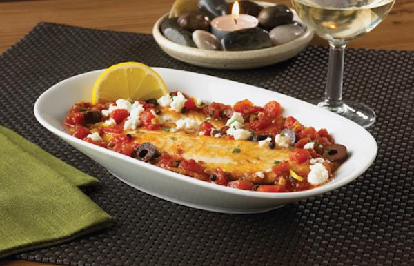 Tilapia avec Tomates et Feta
