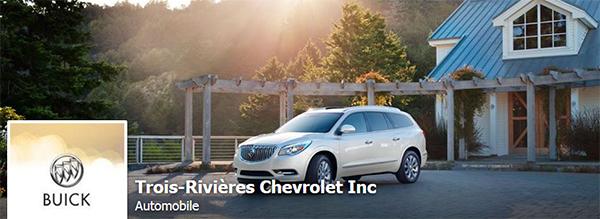Trois-Rivières Chevrolet Buick GMC Cadillac en Ligne