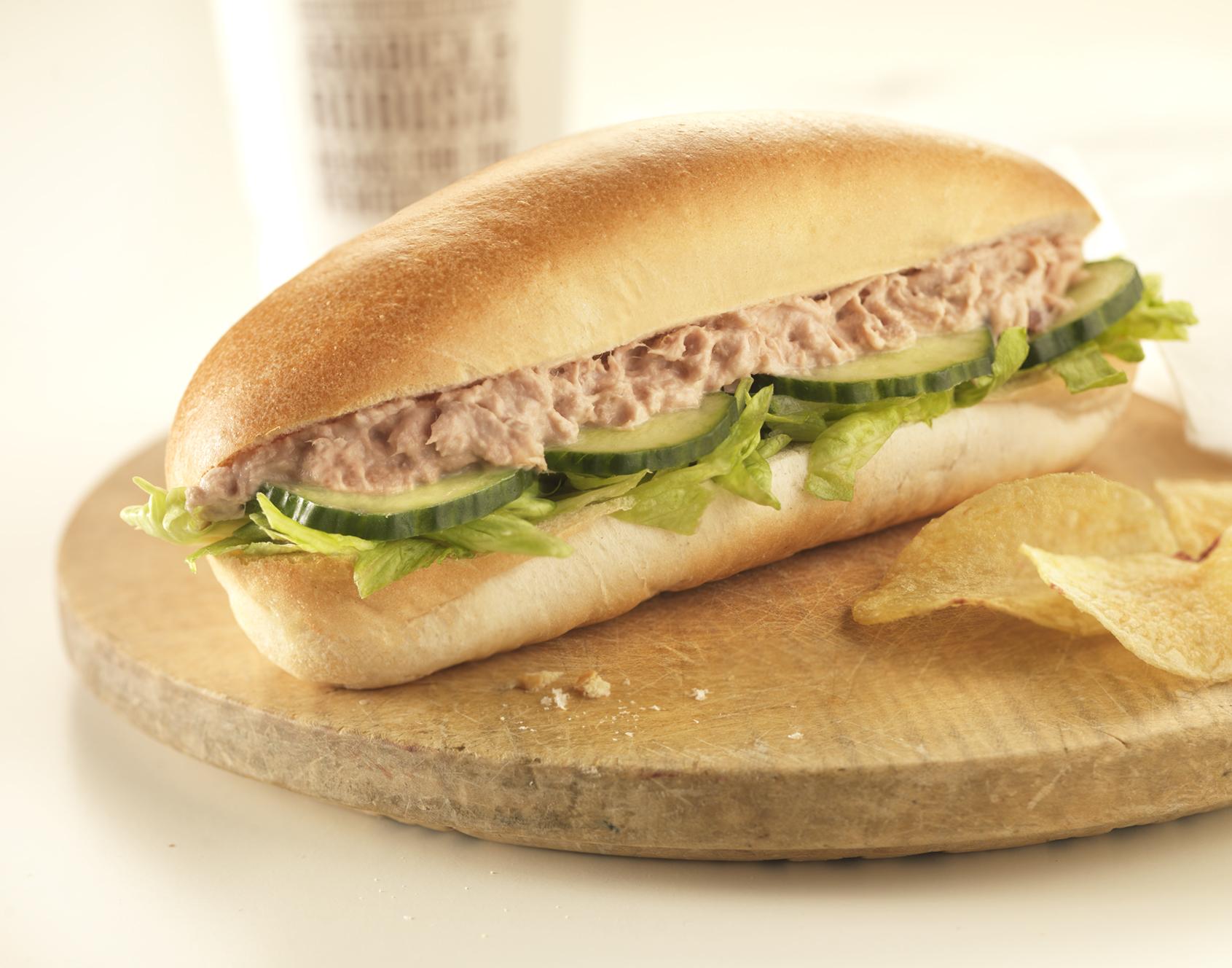 Garniture à Sandwich au Thon et aux Olives Noires