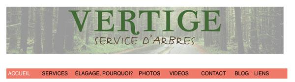 Vertige Service d'Arbres en ligne