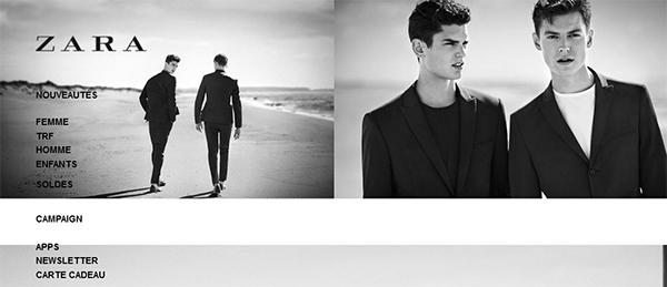 Zara en ligne