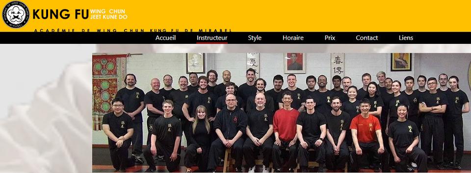 Académie de Wing Chun Kung Fu de Mirabel en Ligne