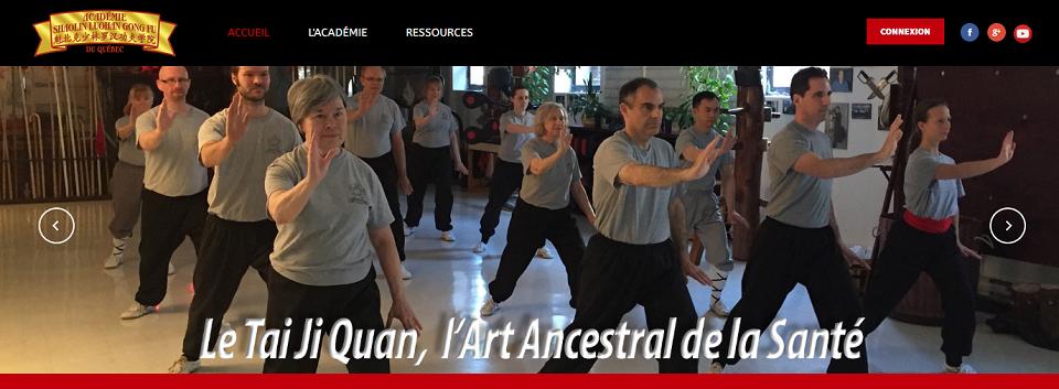 Académie Shaolin Luohan Gong Fu du Québec en Ligne