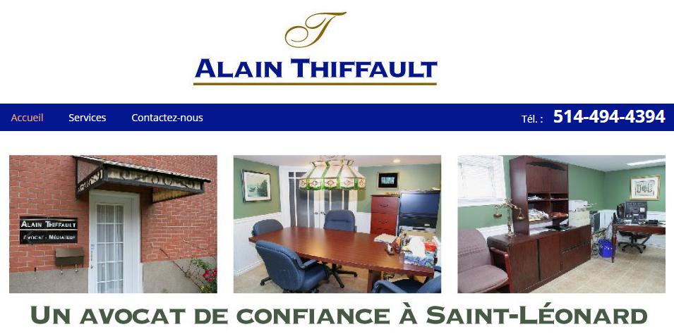 Alain Thiffault Avocat en Ligne