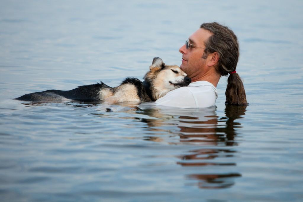 Apprendre à se Baigner avec son Chien