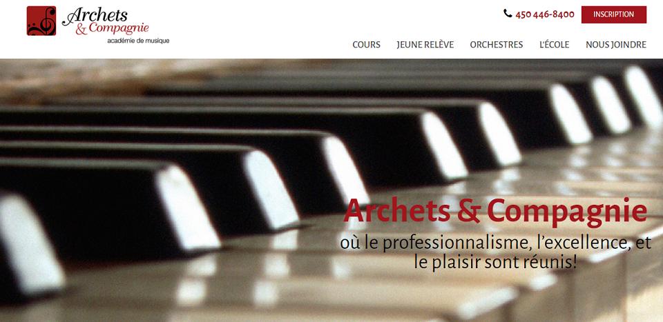 Archets & Compagnie en Ligne