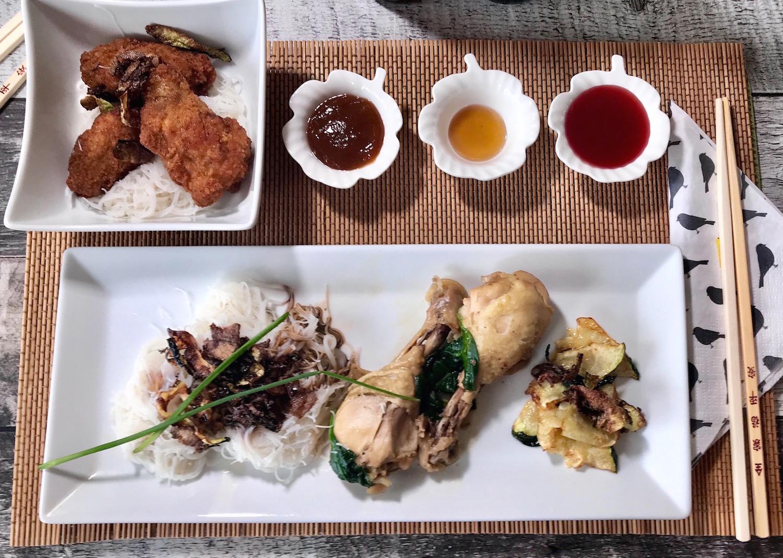Photo Recette Assiette Asiatique