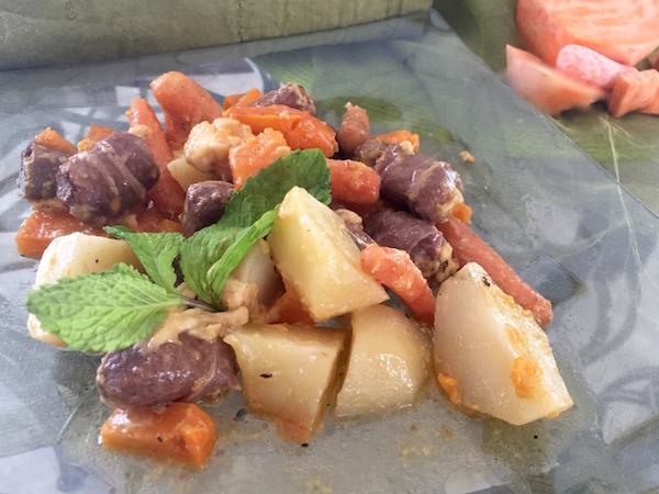 Photo Recette Saucisses et Légumes en Papilotte