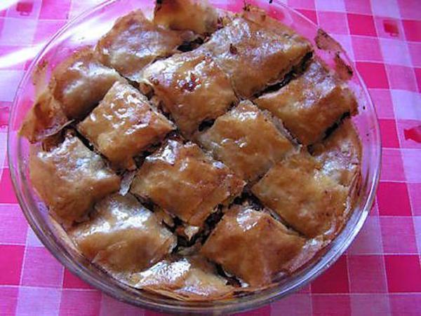 Baklava Léger aux Pommes