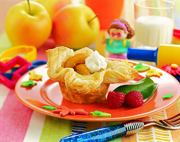 Baluchons de Pommes en Pâtissière