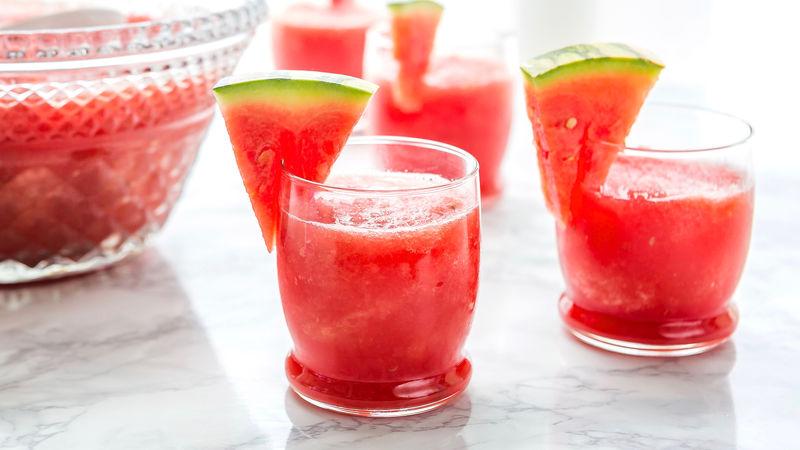 Photo Recette Barbotine au Melon D'eau à la Vodka