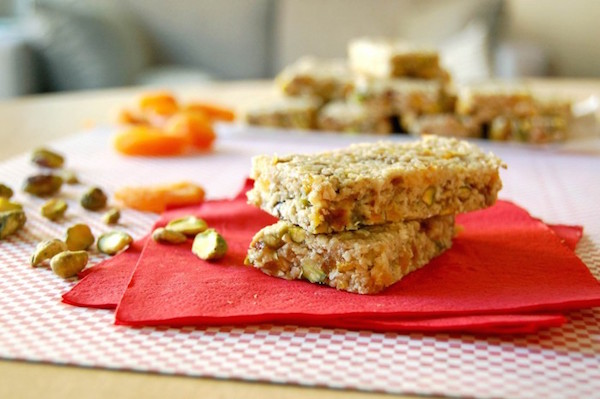 Barre Sans Cuisson Pistache-Abricot