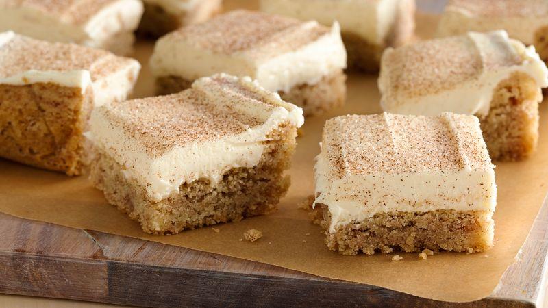 Barres de Biscuits à la Cannelle Moelleux aux 4 Ingrédients