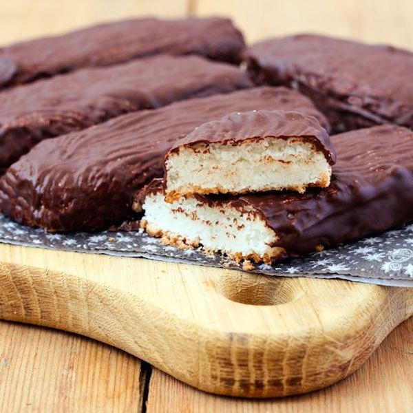 Photo Recette Barres de Chocolat à la Noix de Coco