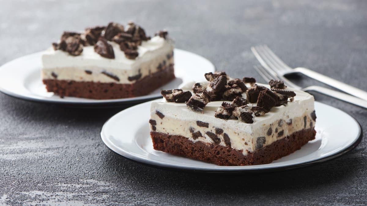 Photo Recette Barres de Crème Glacée Brownies OreoMC